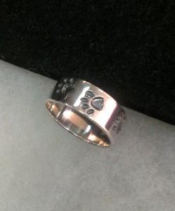 Сребро, бижу без камък – пръстен – N734