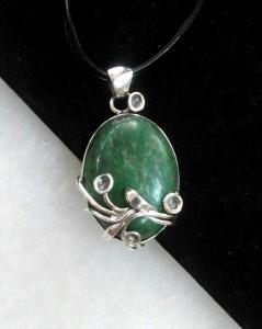 Зелен Яспис – медальон – N762